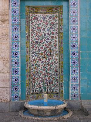 mausoleum saadi